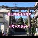 文京区・白山神社~復縁のご利益があるパワースポット